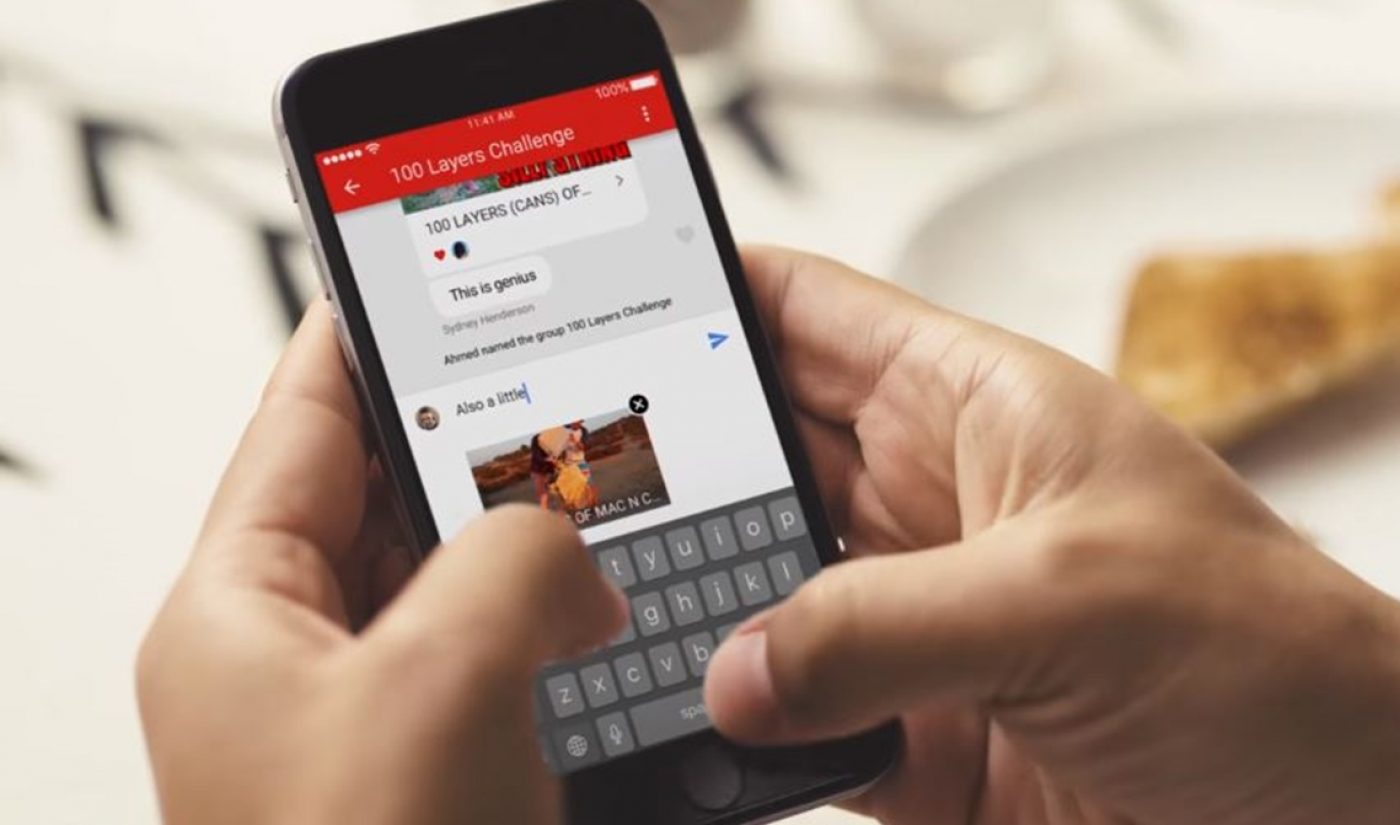 Native Video-Sharing And Chat Feature Rolls Out To YouTube App Globally
