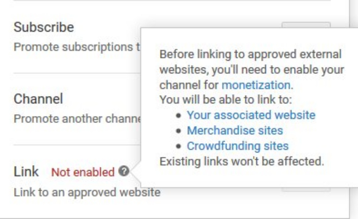YouTube Cracks Down on External Video Links