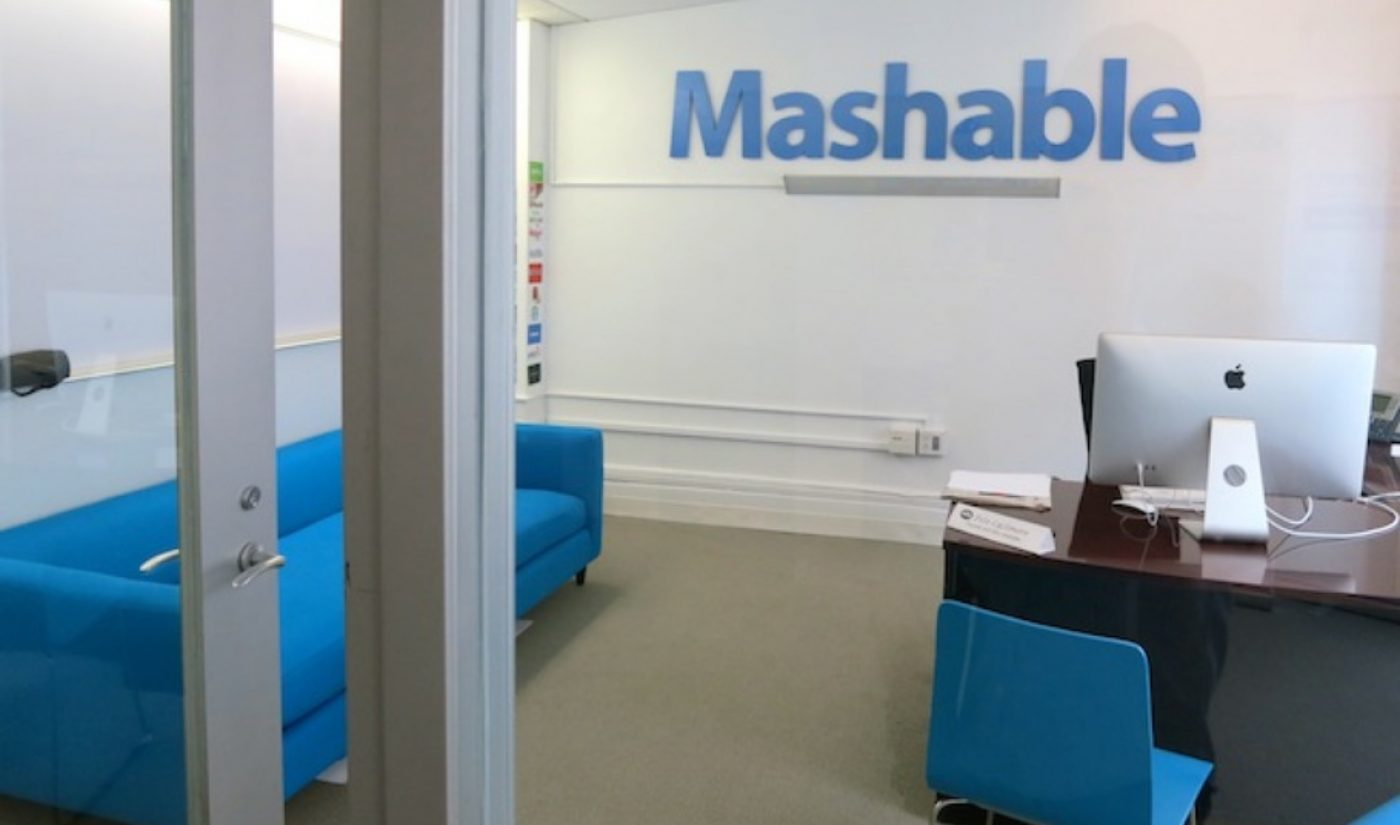 Mashable Reportedly Consider Sale To German Media Company ProSiebenSat.1