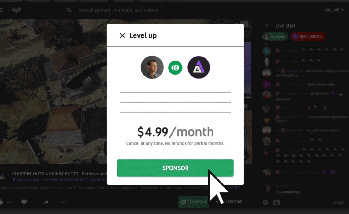 YouTube Gaming ups community-building tools with paid 'sponsorships'