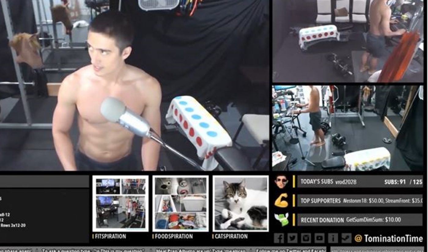 Twitch Says It Sees A New Crop Of Fitness Streamers On The Rise