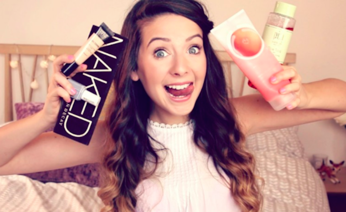 Beauty influencer zoella youtube 10-13-17