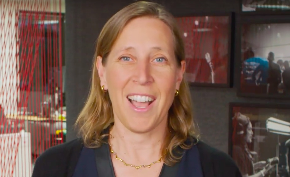 Susan Wojcicki YouTube 10-16-17