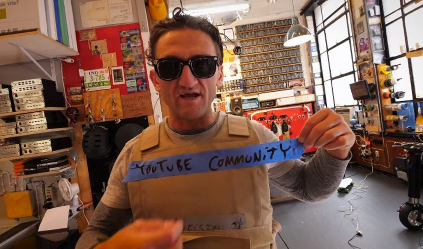 Casey Neistat: YouTube Doesn't Do Enough To Take Care Of Creator Community