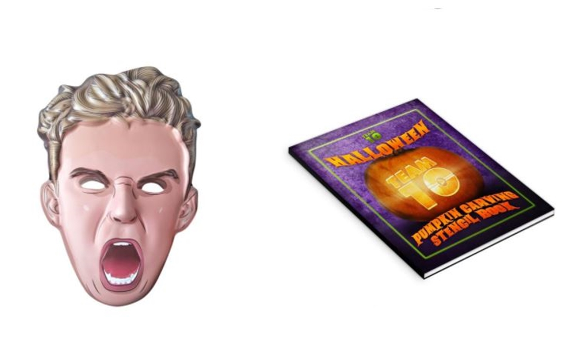 Jake Paul S Halloween Merch Includes Plastic Mask And Team