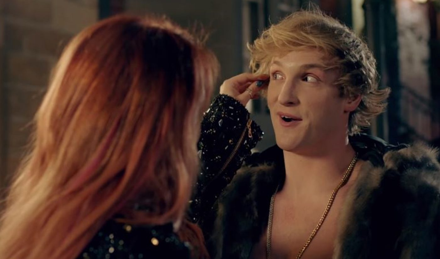 Logan Paul's New Music Video With Bella Thorne Is An Ode To His Blonde Locks