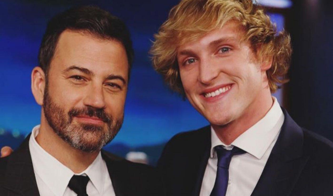 Following Arrest In Italy, Logan Paul Talks Testicles, Watchable Series On 'Jimmy Kimmel Live'