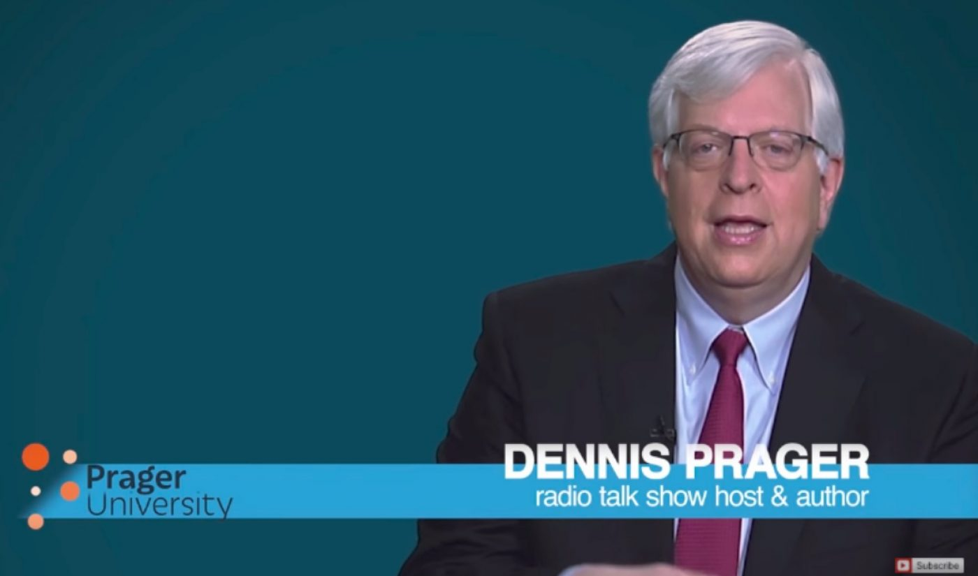 Conservative Organization PragerU Sues YouTube Over Alleged Censorship Of Conservative Voices