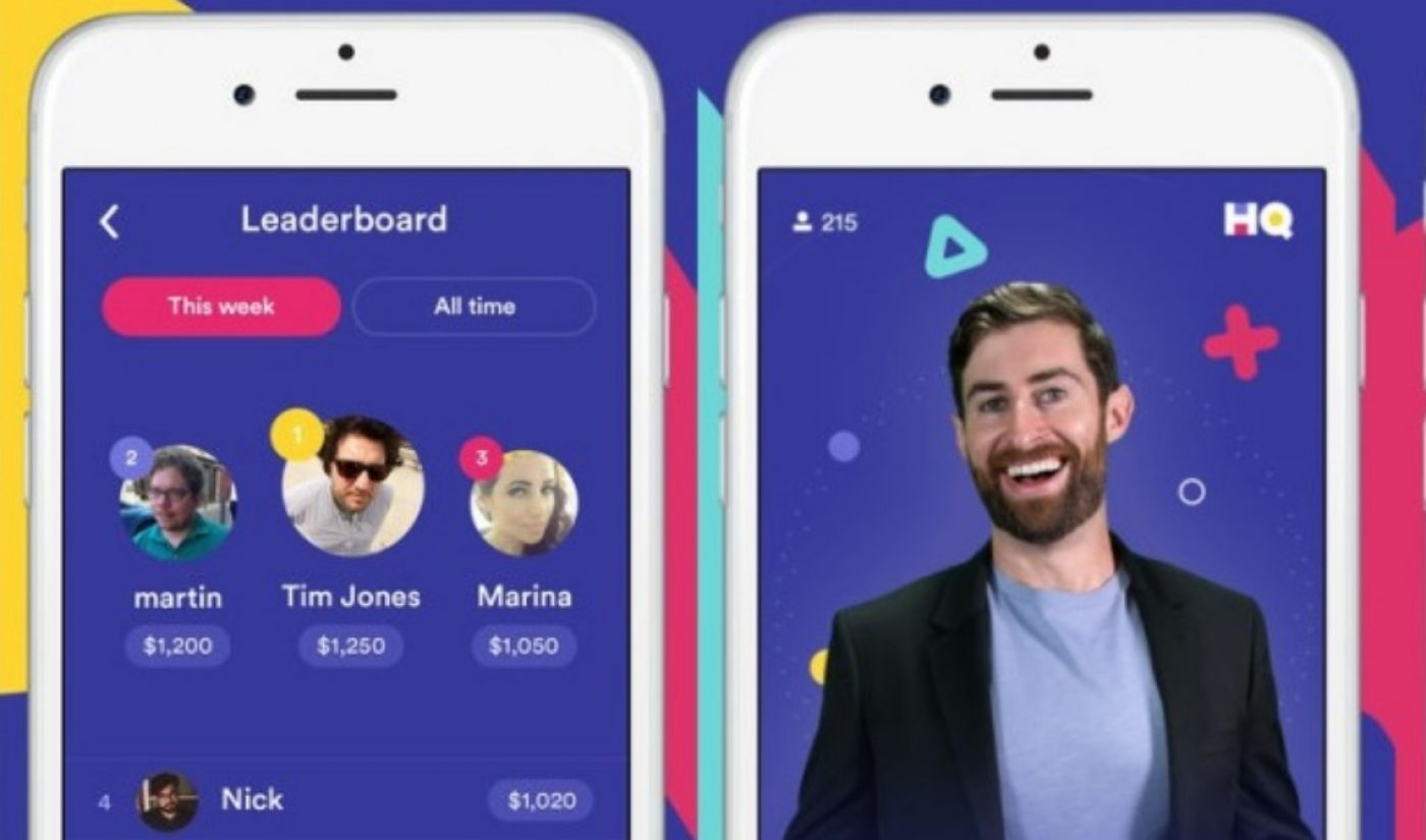 Live Trivia App HQ Gave Away $7,500 Last Night And Drew 120,000 Concurrent Viewers