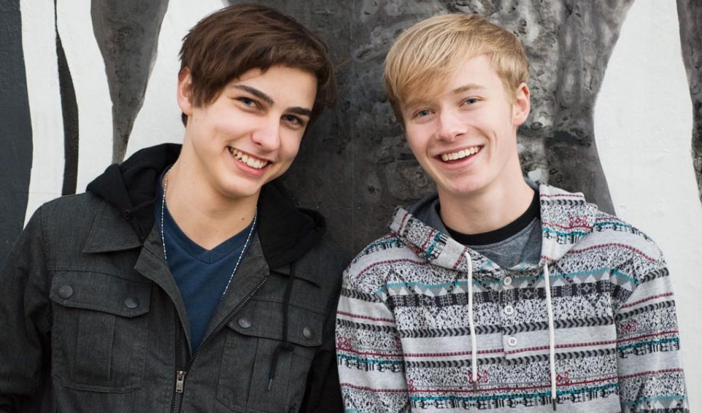 """YouTube Millionaires: Sam And Colby Look To """"Explore Everything"""" As Their Channel Grows"""