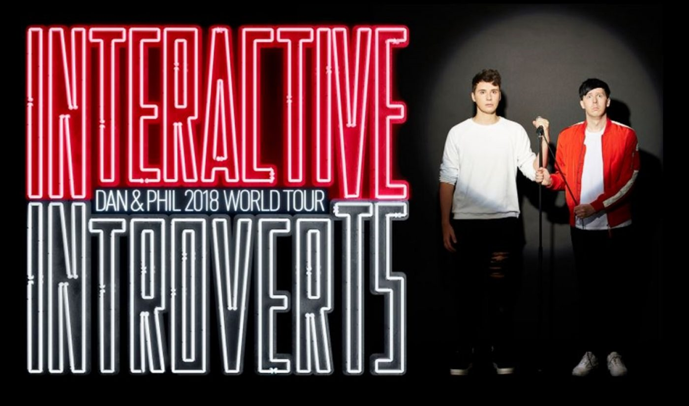 Dan & Phil To Embark On Massive 'Interactive Introverts' Tour In 2018