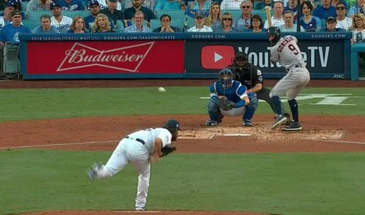 """YouTube Says World Series Ad Campaign Drove """"Double Digit"""" Lift In YouTube TV Brand Awareness"""
