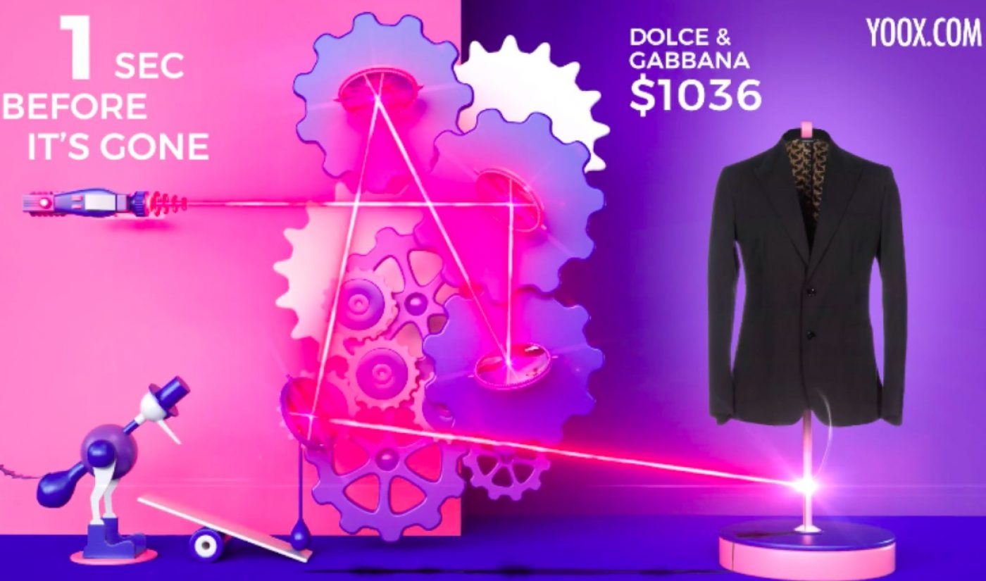 High-End Fashion Retailer Yoox Hides Exclusive Deals In 15-Second YouTube Ads