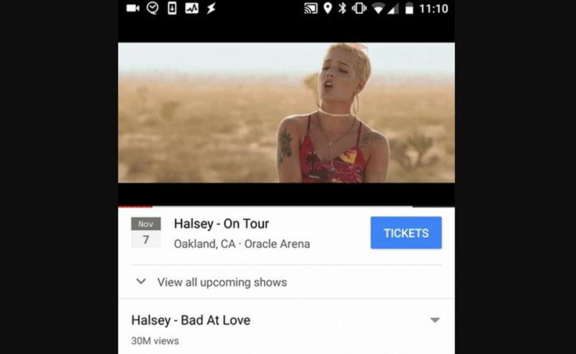 YouTube Now Allows its Users to Buy Concert Tickets Via Ticketmaster