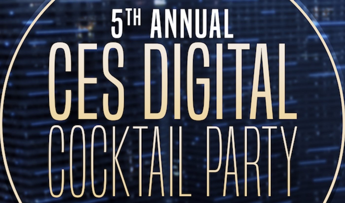 Join Us At CES 2018 For The 5th Annual Digital Cocktail Party