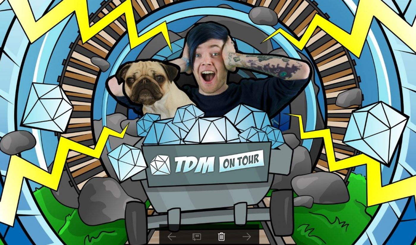 """Gamer Dan """"DanTDM"""" Middleton Leads Forbes List Of Top-Earning YouTube Stars With Estimated $16.5 Million Income In 2017"""