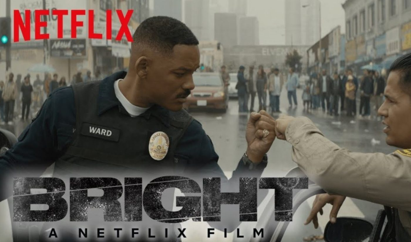 Netflix's 'Bright' Drew 11 Million Viewers During Its Opening Weekend, Per Nielsen