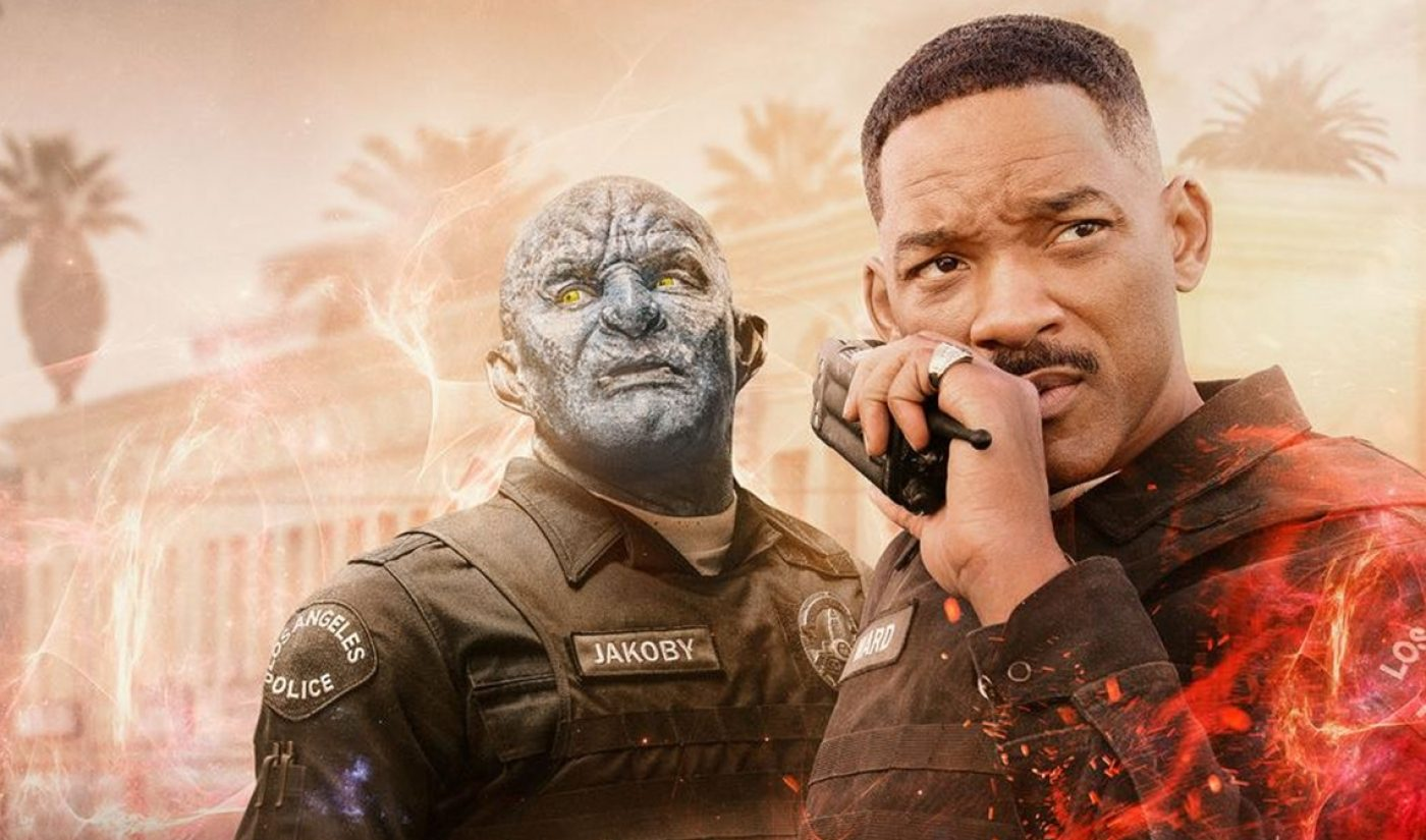 Netflix Reportedly Orders Sequel To First Blockbuster 'Bright' Amid Scathing Reviews