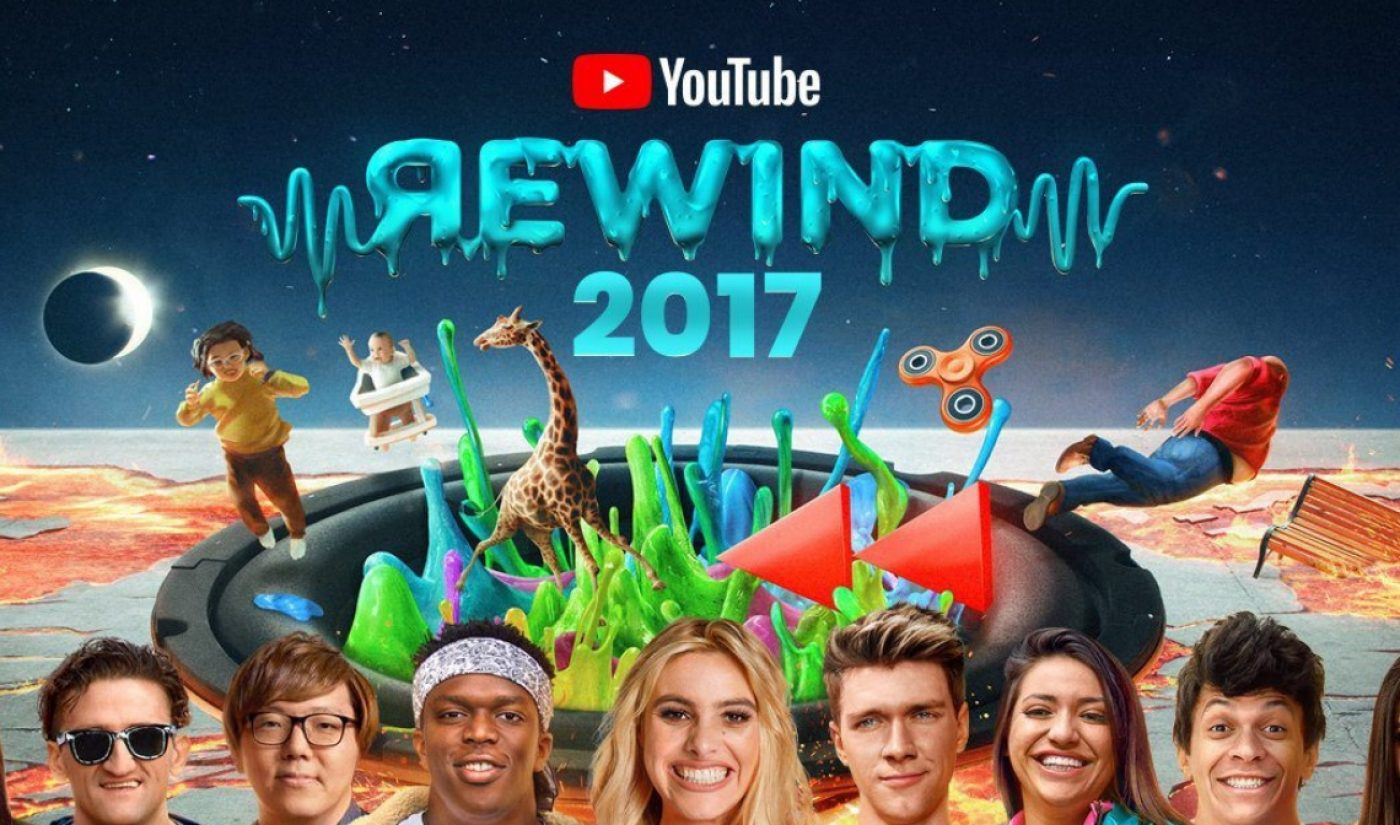 Close To 300 Creators Recreate 2017's Top Online Video Trends In Latest Edition Of YouTube Rewind
