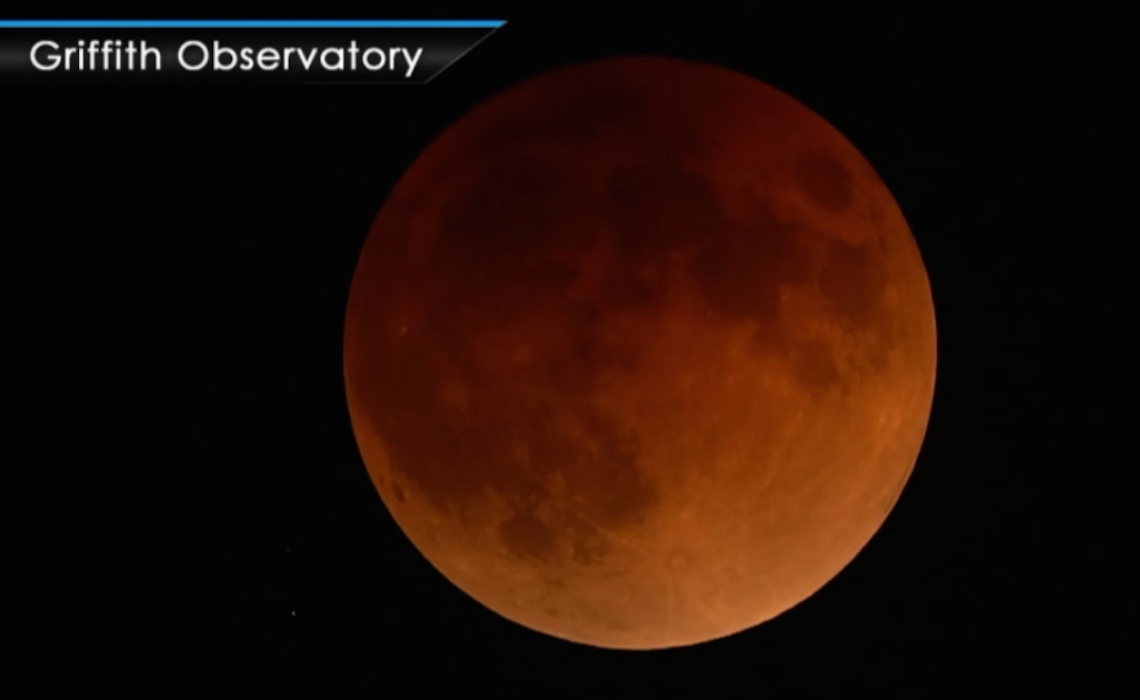 NASA telescopes relay live feed of rare super blue blood moon