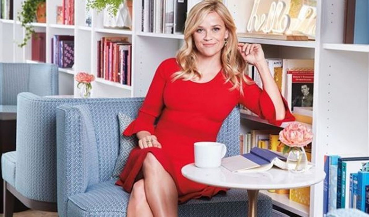 Apple Developing Reese Witherspoon And Peter Chernin-Produced Thriller 'Are You Sleeping'