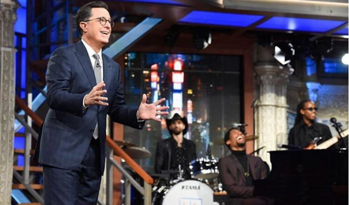 CBS Pacts With Facebook To Bring Stephen Colbert, James Corden Clips To 'Watch'