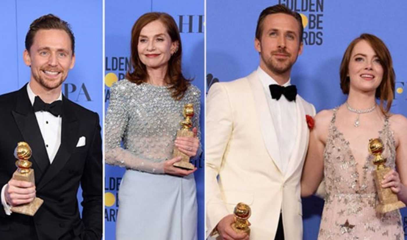 Facebook Replaces Twitter As Exclusive Streaming Partner For Golden Globes Pre-Show