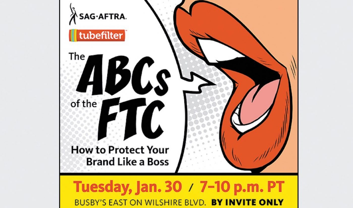 FTC Regional Director And SAG-AFTRA National Executive Director Added To Tubefilter Meetup