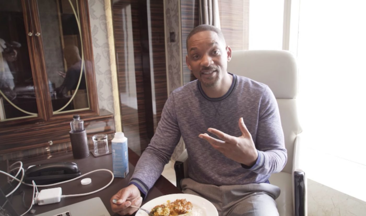 Will Smith Has Launched His Own YouTube Channel