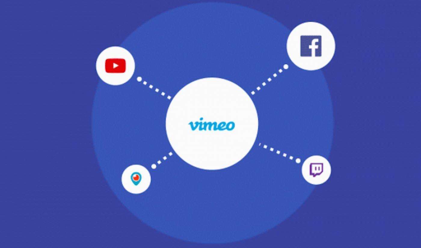 Vimeo's New Tools Help Creators Distribute Work On Facebook, YouTube