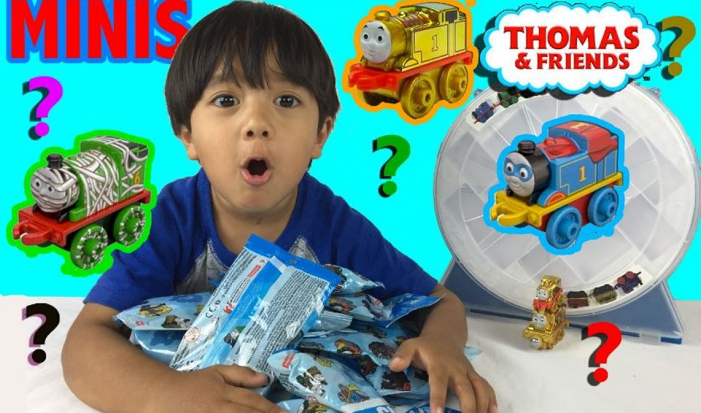 Pocket.Watch, With Partners Like Ryan ToysReview And Captain Sparklez, Strikes Deal To Make Toys