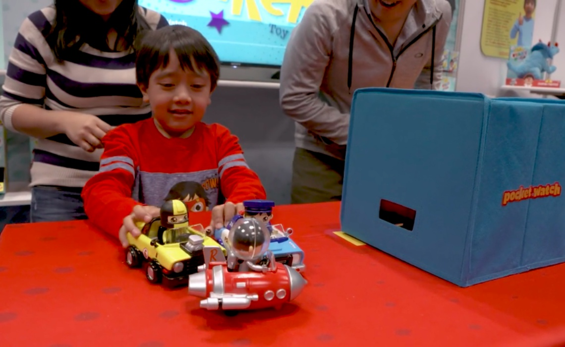 7 Year Old Youtube Superstar Behind Ryan Toysreview Just Unboxed His