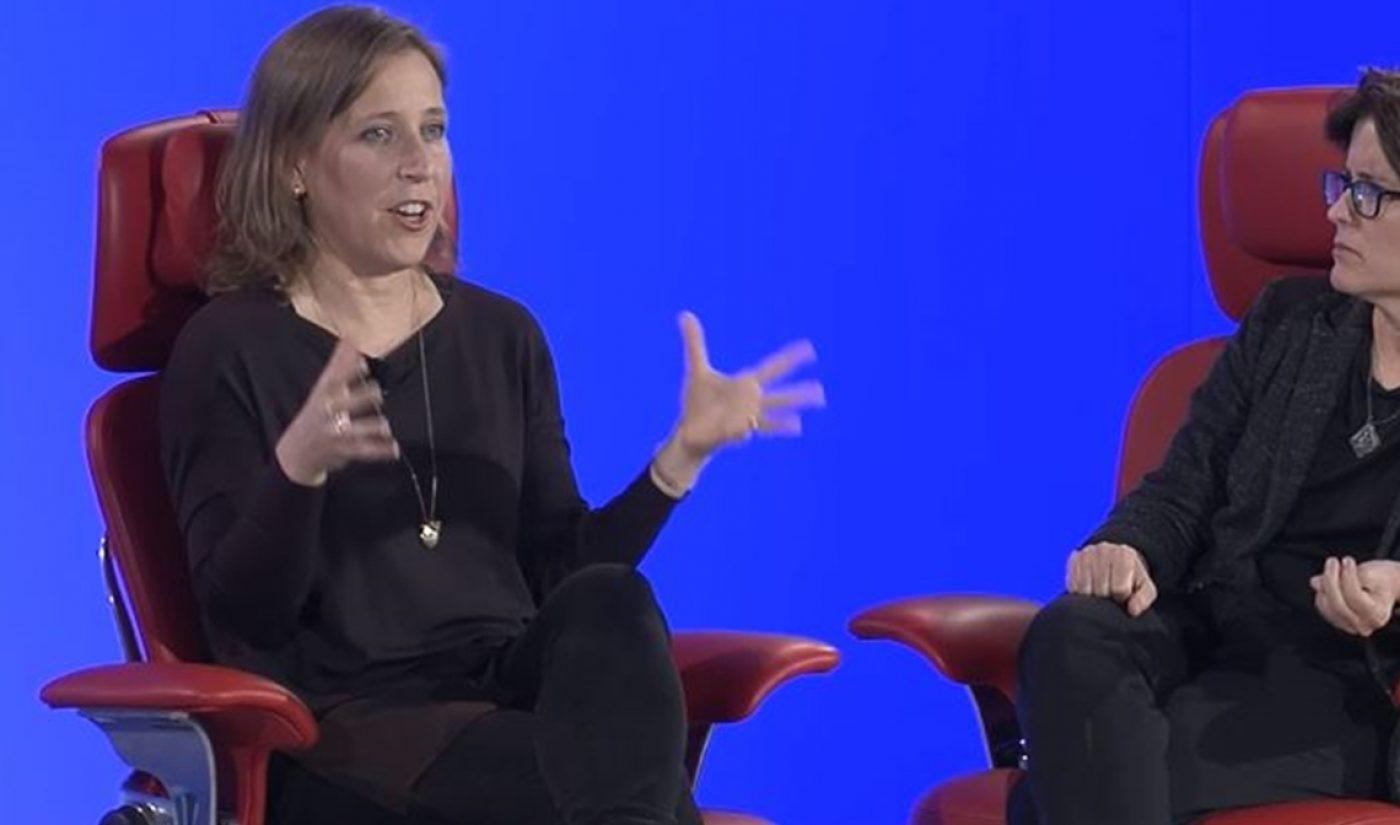 "YouTube CEO Susan Wojcicki: ""I Think [Facebook] Should Get Back To Baby Pictures"""