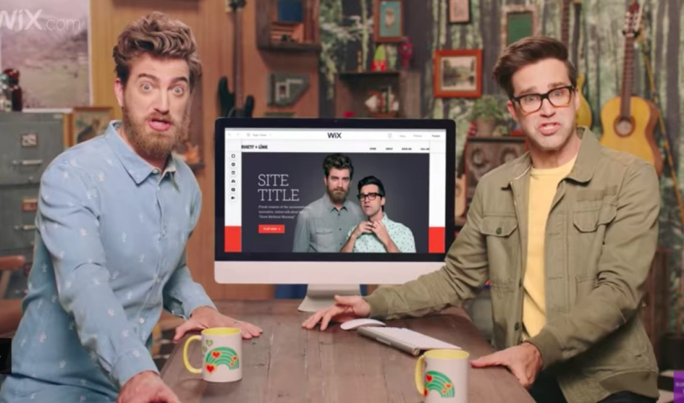 YouTube Stars Rhett And Link Will Appear In Wix's Super Bowl Ad