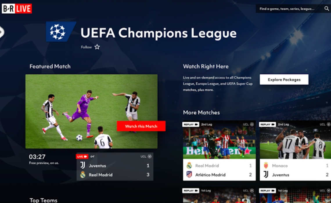 Users Can Pay For Single Games On Bleacher Report Streaming Service