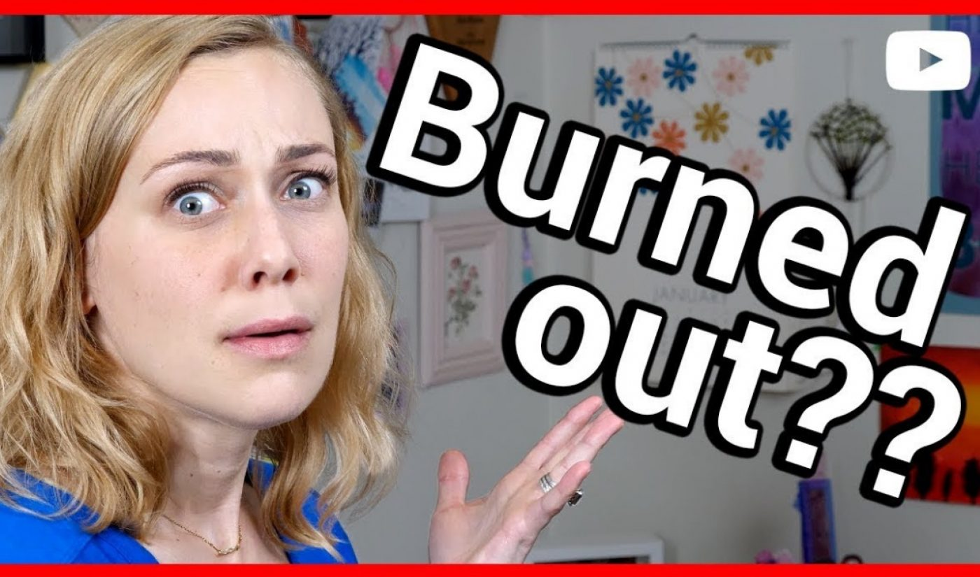 YouTuber Kati Morton Offers Her Fellow Creators Some Tips For Combatting Burnout