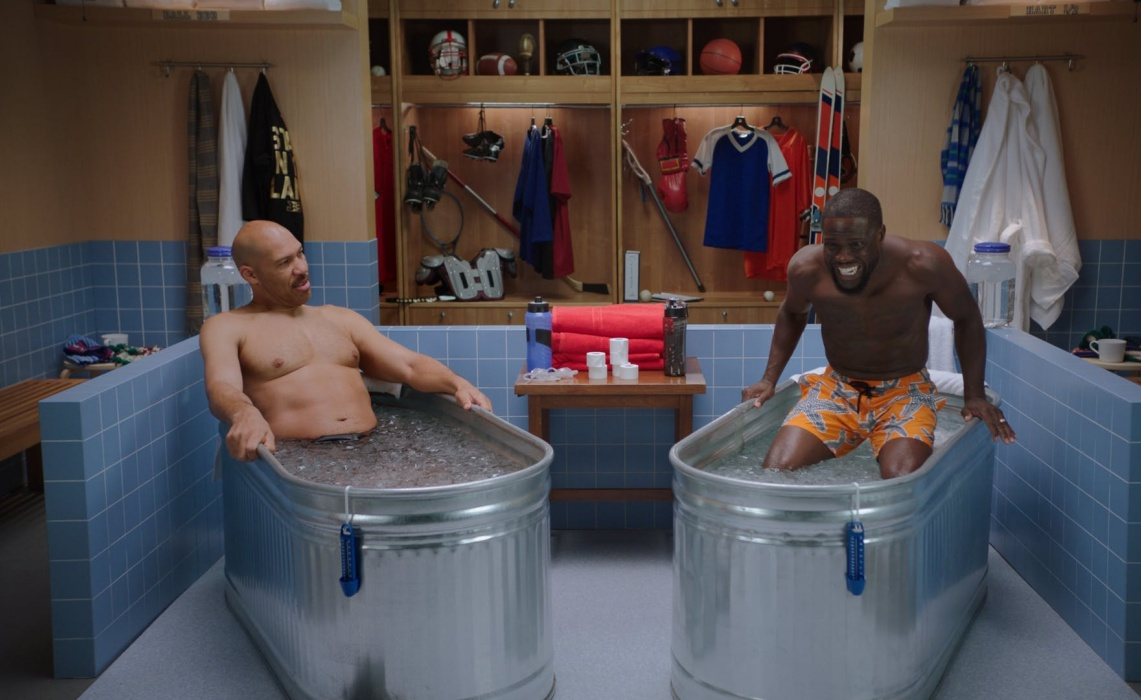 Kevin Hart S Ice Bath Talk Show Cold As Balls Is Coming