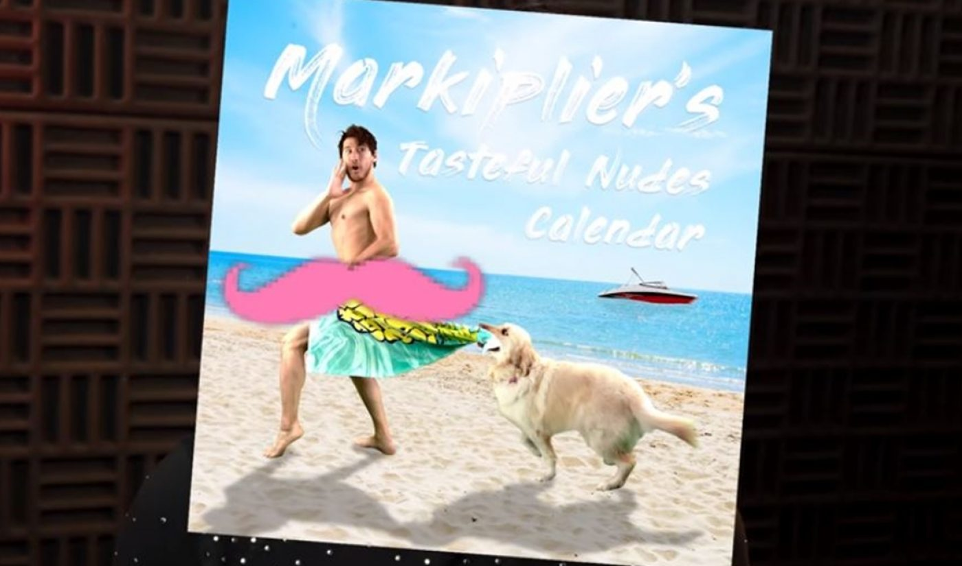 Markiplier Hits 20 Million Subscribers, Unveils 'Tasteful Nudes' Charity Calendar