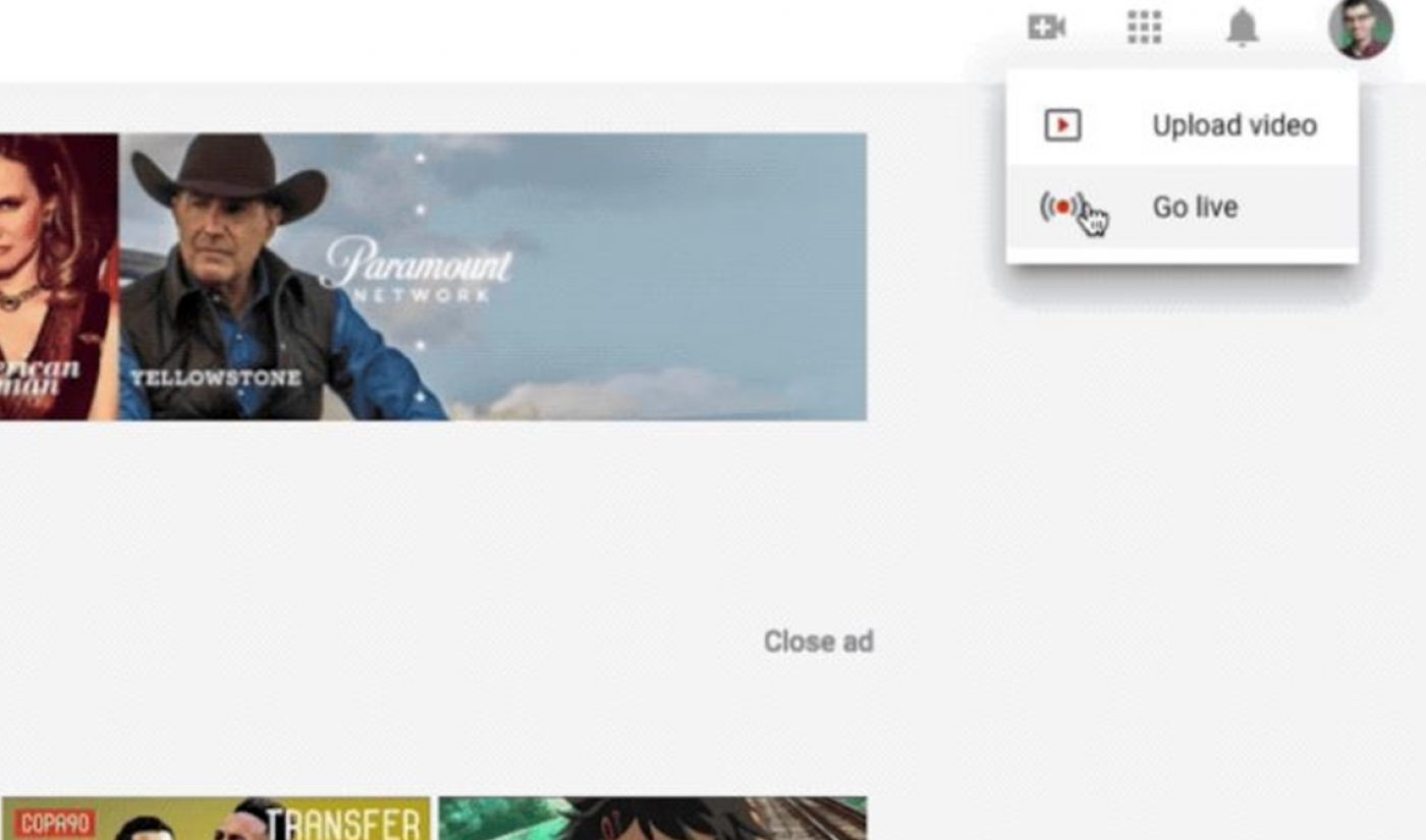 YouTube Simplifies Livestreaming Process From Computers, Webcams, And Android Camera Apps