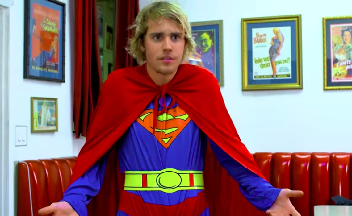 Justin Bieber Stars in Rudy Mancuso's New 'Racist Superman' Video