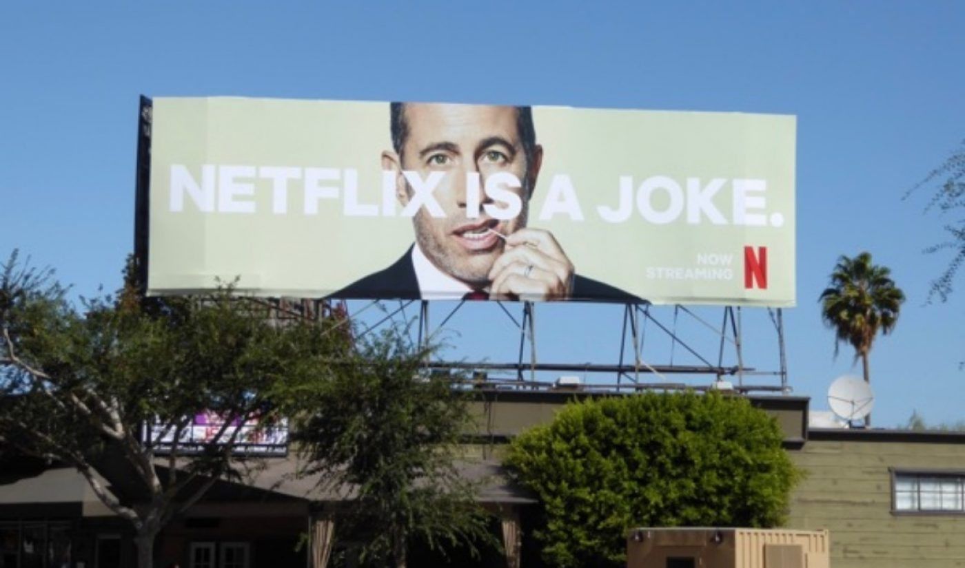 Netflix May Pay $300 Million To Acquire A Los Angeles-Area Billboard Company