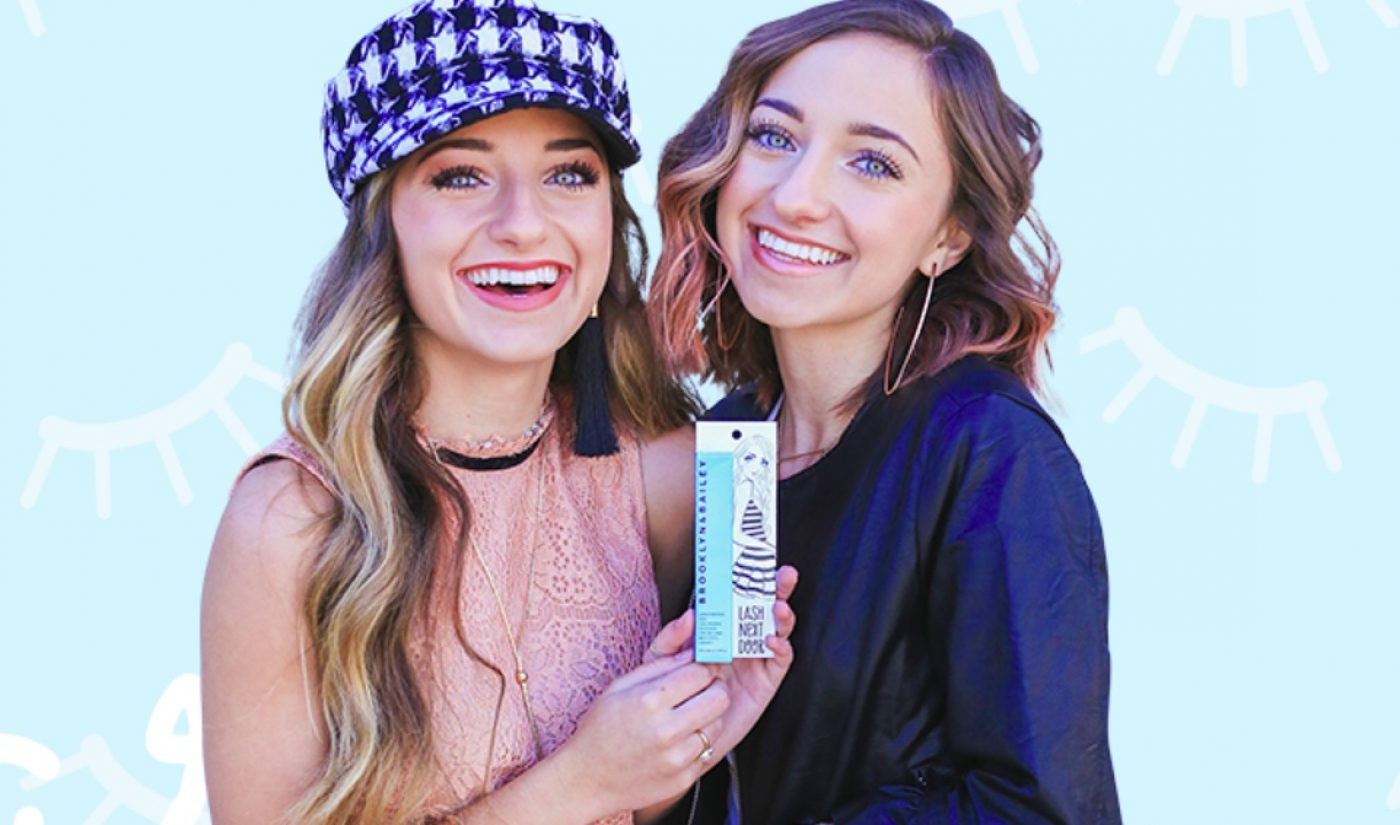 YouTube Stars Brooklyn And Bailey Debut Their Own Mascara Line