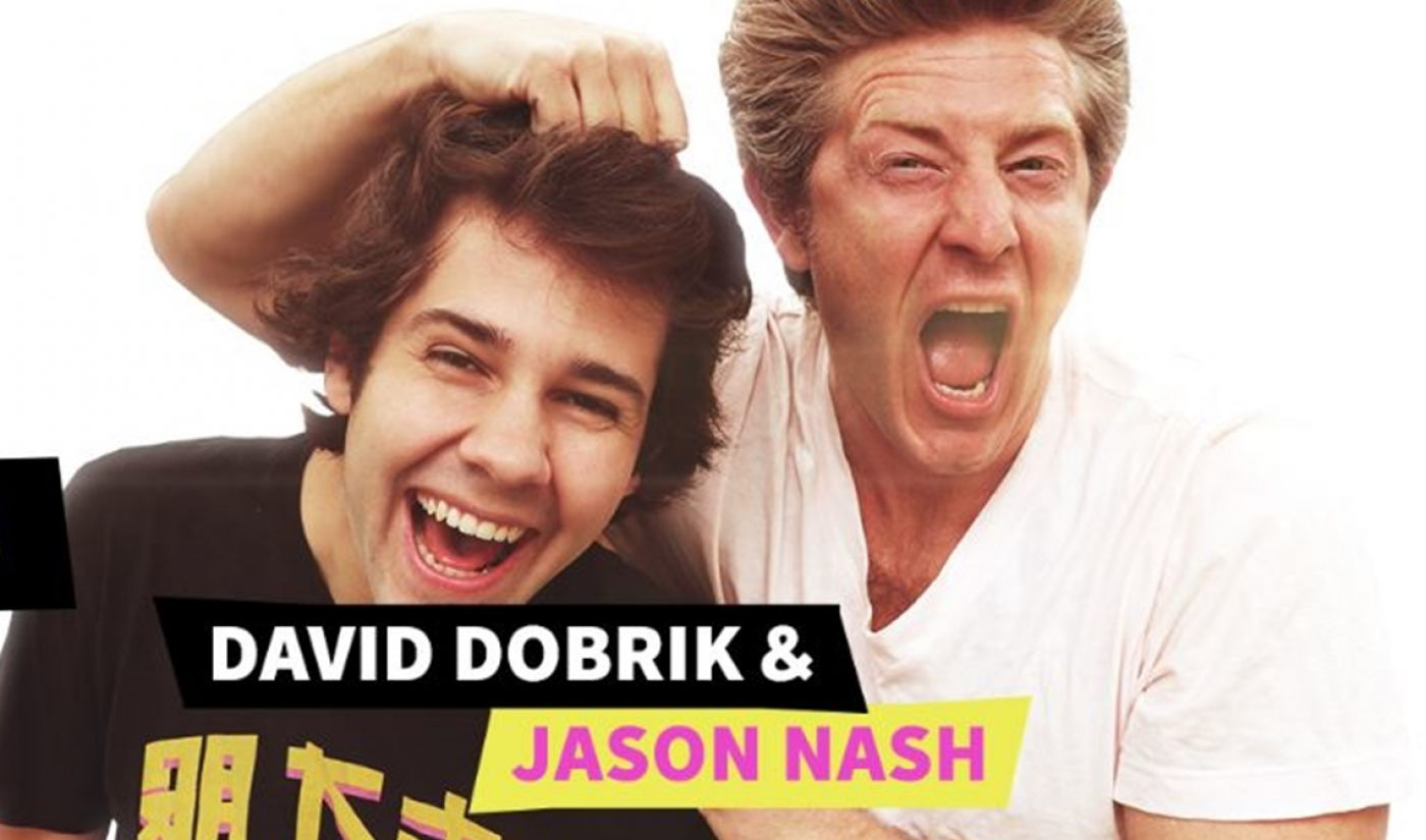 Vlogger/Podcasters David Dobrik And Jason Nash To Kick Off Summer Tour