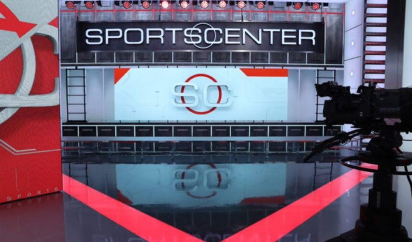 ESPN To Launch Daily Edition Of 'SportsCenter' On Redesigned Mobile App