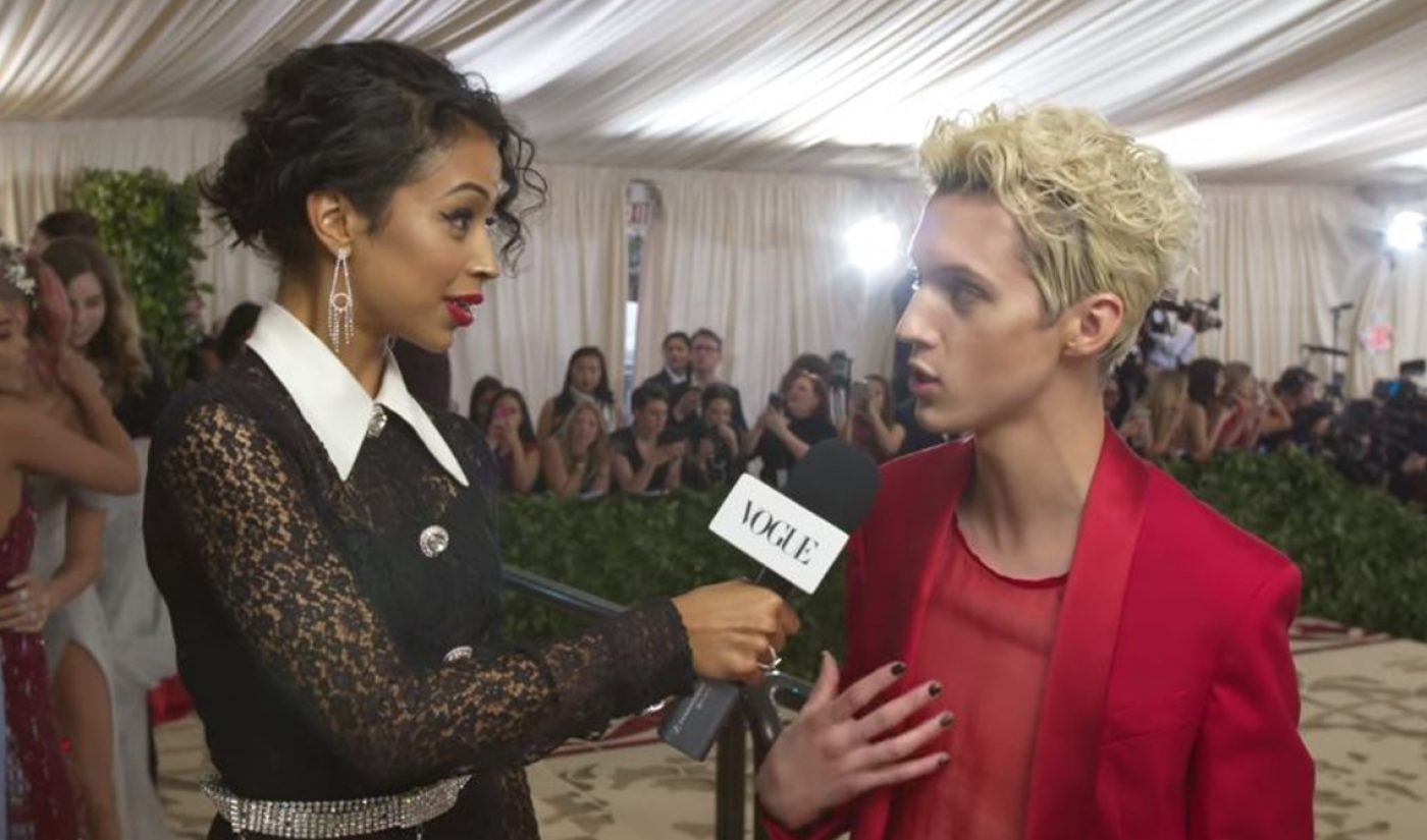 Digital Phenom Liza Koshy Hosts Met Gala Red Carpet Pre-Show For 'Vogue'