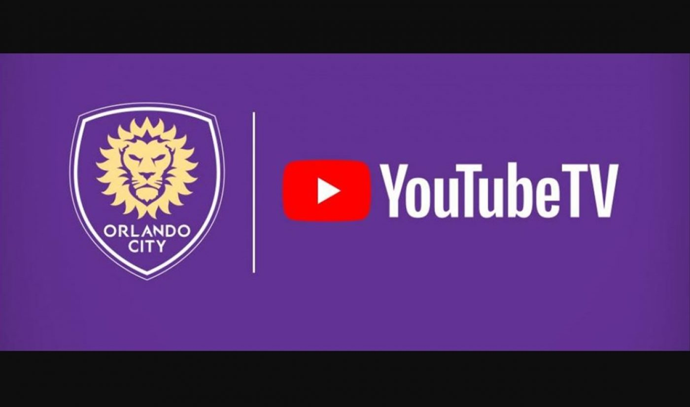 YouTube TV Enters Streaming Pact With Third Major League Soccer Club