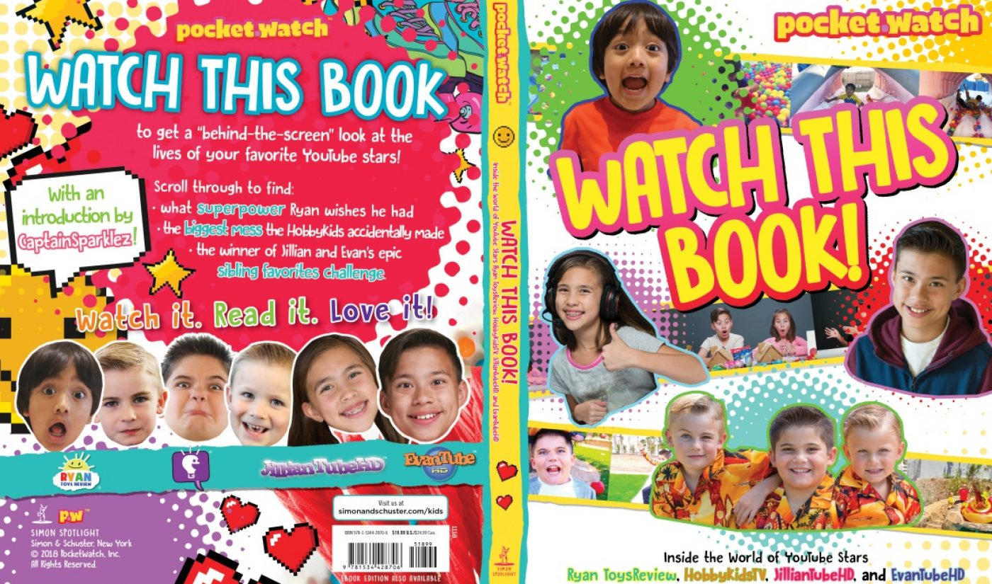 Kids Creators Like Ryan ToysReview, EvanTube, Captain Sparklez To Be Featured In Upcoming Book