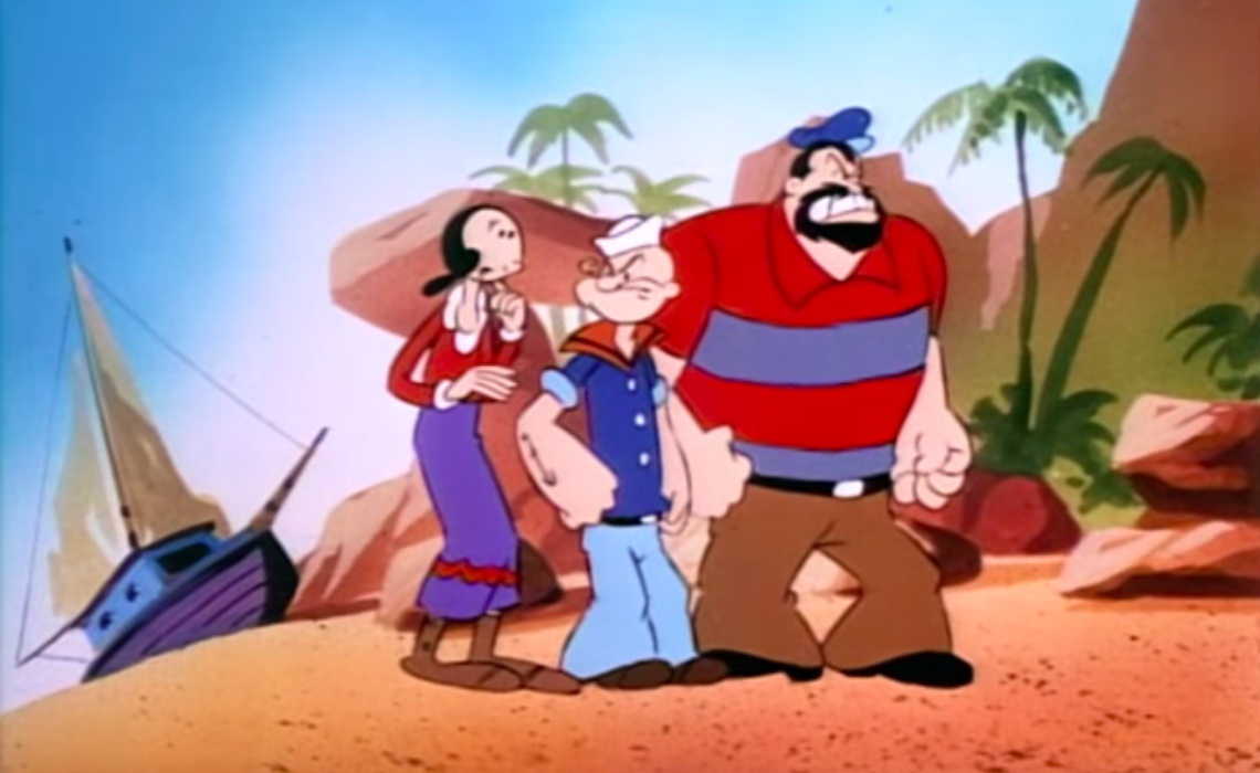 89 years after popeye s introduction the sailor man is coming to