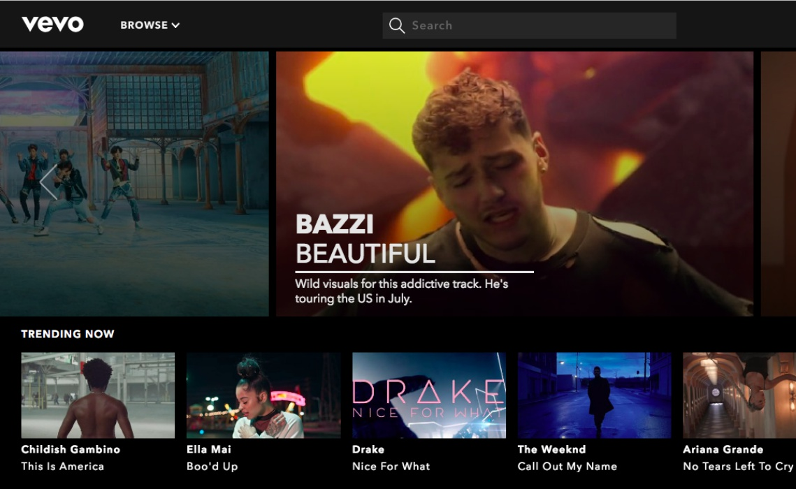Vevo is killing off mobile apps and website to focus on YouTube