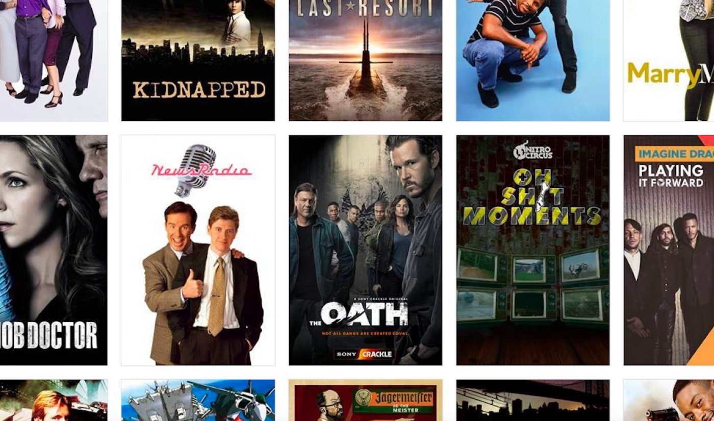 Sony's Crackle Will Cease Service In Canada On June 28